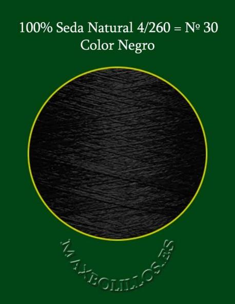 Seda Negro Nº 30