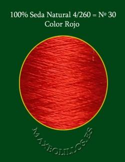 Seda Rojo Nº 30