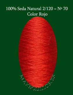Seda Rojo Nº 70