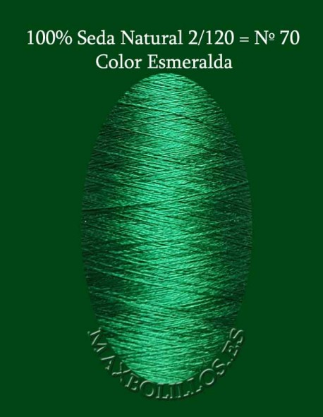 Seda Esmeralda Nº 70