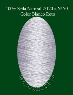 Seda Blanco Nº 70