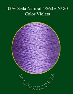 Seda Violeta Nº 30