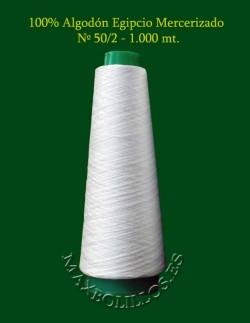 Algodón Egipcio Blanco Roto nº 50