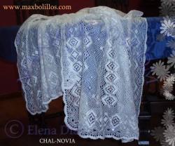 Picado Chal Novia
