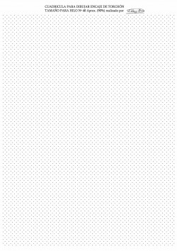 Fondo para Diseñar Encaje de Torchon