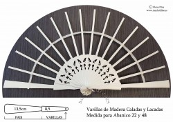 Varillas Lacadas 22-48