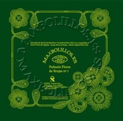 Picado Pañuelo Flores de Brujas 01
